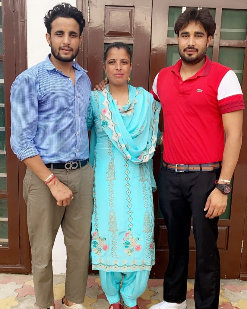 R Nait with Sister and Brother